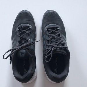 Adidas cloudfoam mens sneakers 13 grey on grey